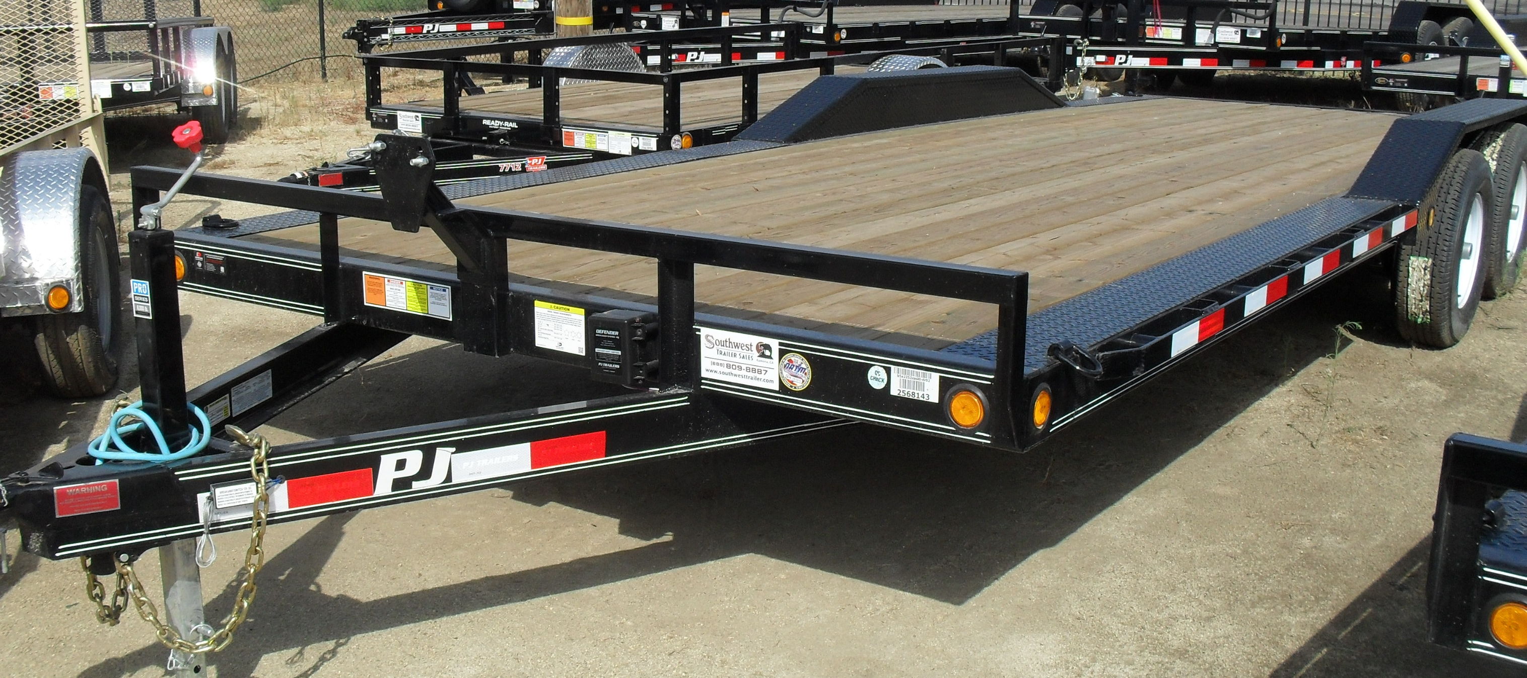 2018 B5222 CHANNEL BUGGY HAULER CONTACT TO ORDER – Southwest Trailer
